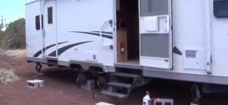 RV Living – Off the Grid Arizona Hot Homestead