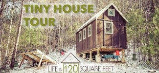 Off-Grid Tiny House in the Mountains