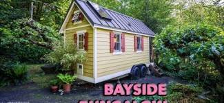 Charming Tiny House Built by Young Woman