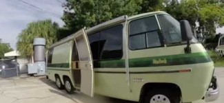 RV Tour Of Kevins Vintage 1977 GMC Palm Beach Motorhome