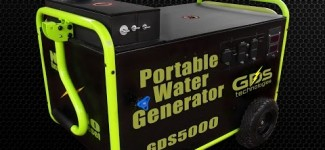 Portable Generator Runs on Water!!