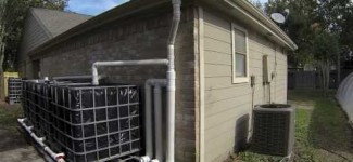 IBC Rainwater Harvesting System Update #1
