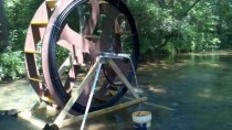 8ft spiral pump water wheel