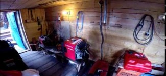 Off Grid Electricity in Remote Alaska Part 2 Honda Generators