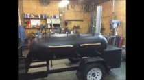 Reverse Flow Smoker Build 250 Gallon Propane Tank