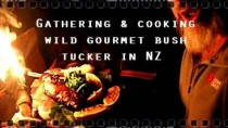 Gathering & cooking, wild gourmet bush tucker in NZ.